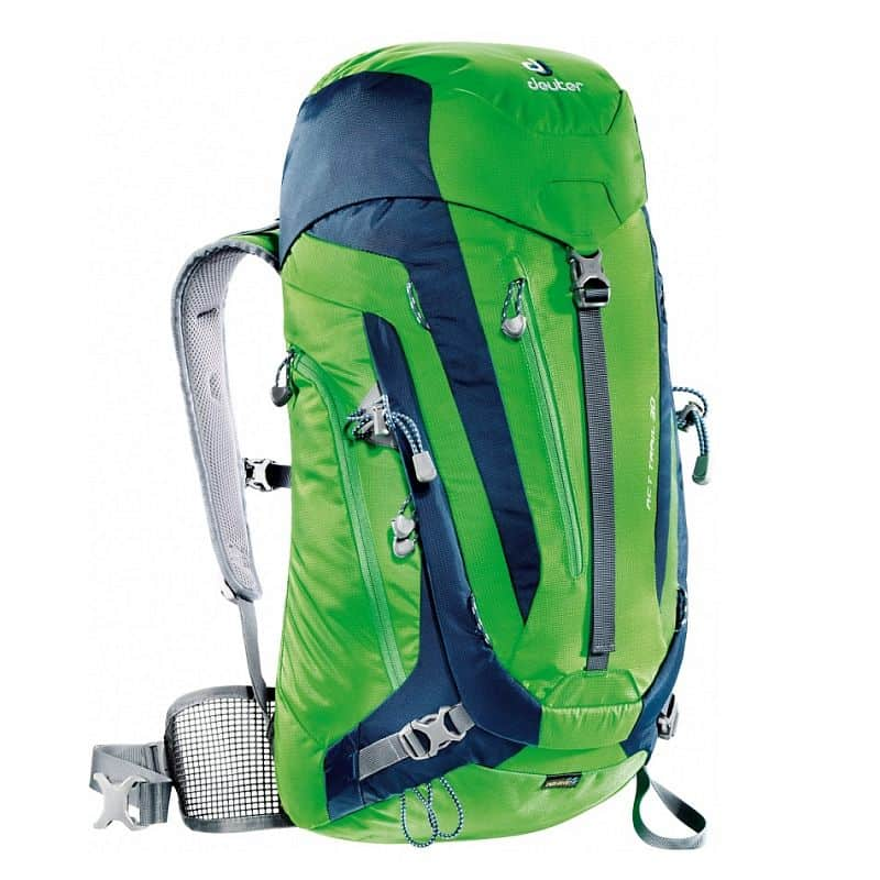 Turistický batoh DEUTER ACT Trail 30 2016 Barva černo-šedá