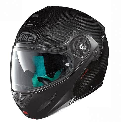 Moto helma X-lite X-1003 Ultra Carbon Dyad Flat Black Velikost M (57-58)