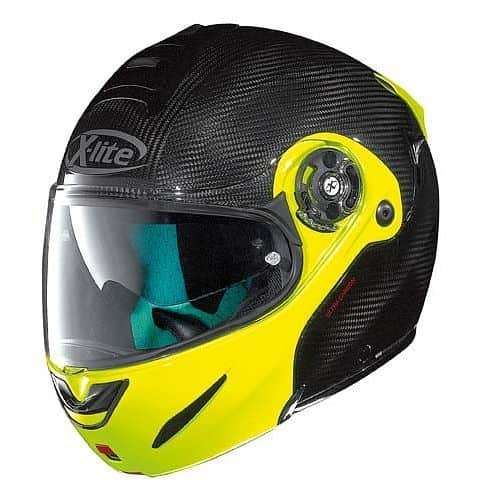 Moto helma X-lite X-1003 Ultra Carbon Dyad Fluo Yellow