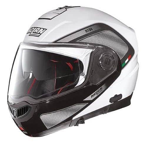 Moto helma Nolan N104 Absolute Tech N-Com