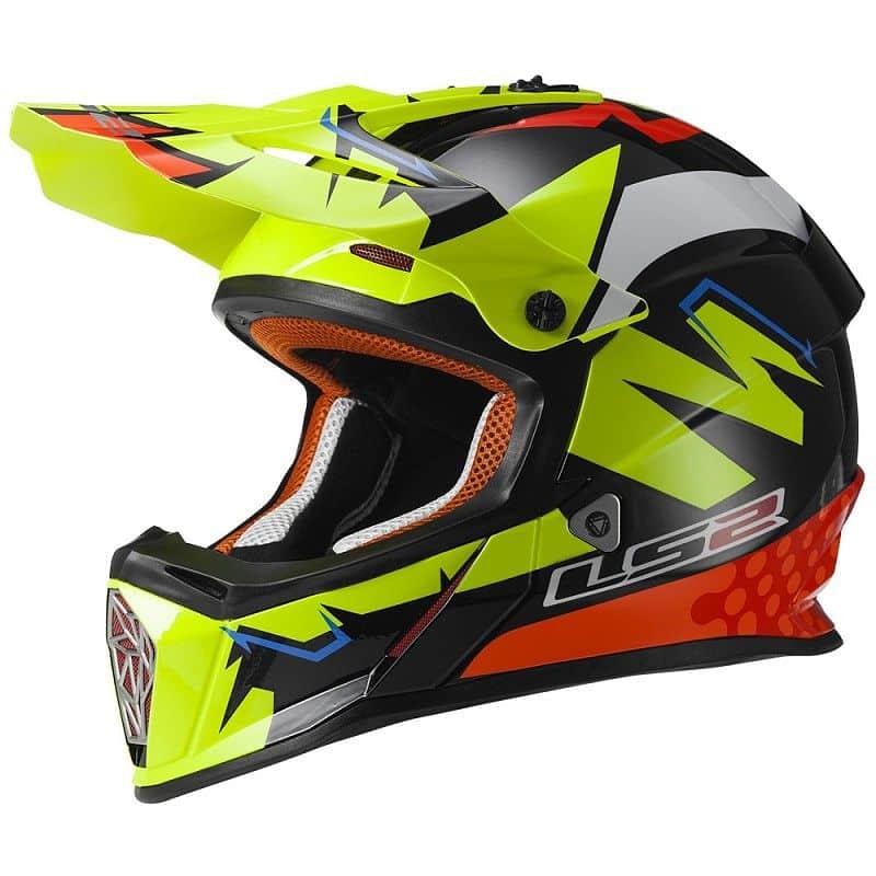 Moto přilba LS2 MX437 Fast Isaac Viñales Replika