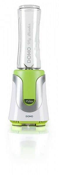 Smoothie mixér DOMO zelený s 1 lahví