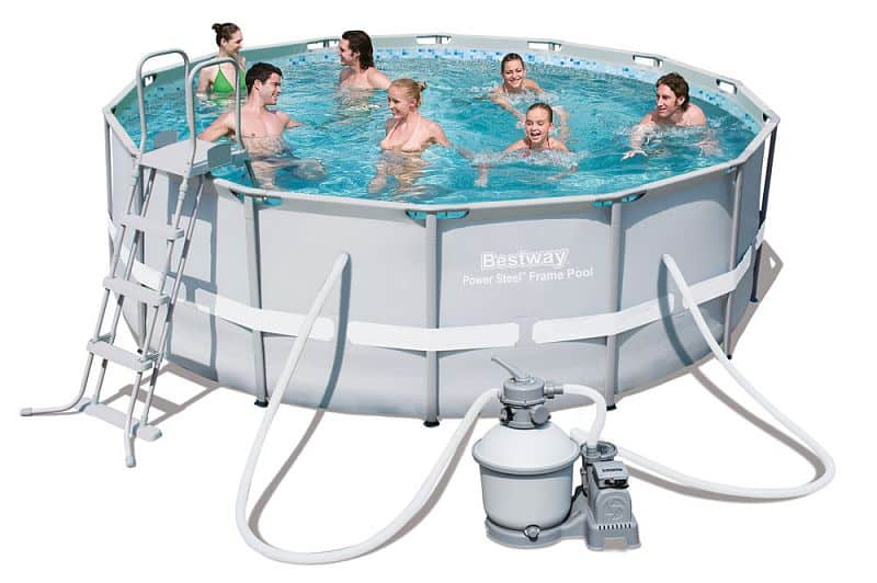 Bazén rodinný s konstrukcí Bestway Power Steel 427 x 122 cm