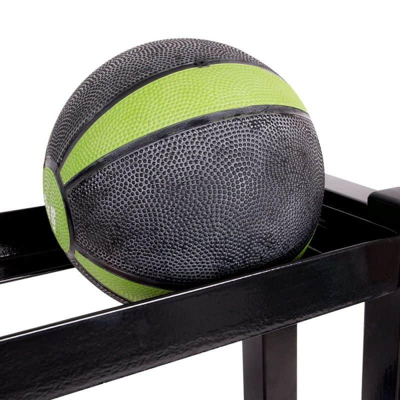 Stojan na míče a balóny inSPORTline Ballrack H130