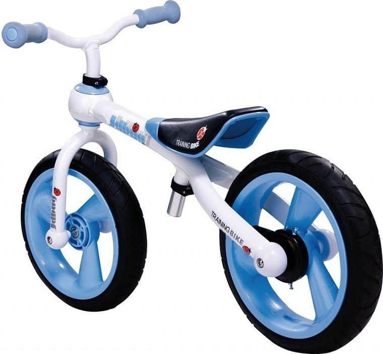 JD Bug odrážedlo Training Bike nafukovací kola modré