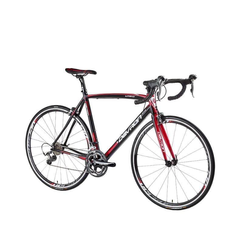 "Silniční kolo Devron Urbio R4.8 - model 2016 Barva Speed Black, Velikost rámu 560 mm (22"") - montáž zdarma, servis u zákazníka"