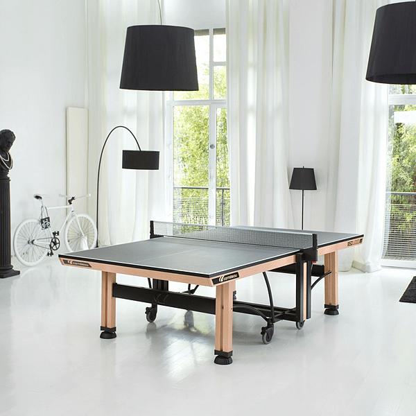 Stůl na stolní tenis CORNILLEAU 850 WOOD Indoor zelená