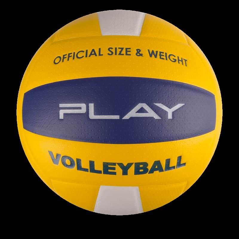 PLAY II Volejbalový míč žlutý vel.5