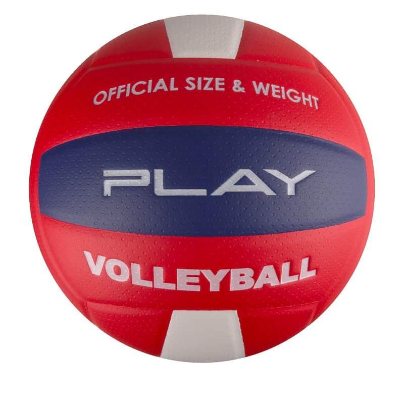 PLAY II Volejbalový míč červený vel.5