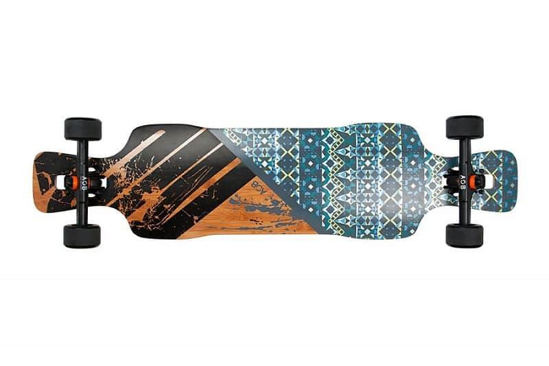 """AOB longboard AsymFlower 38,5"""" (97,8 cm)"""