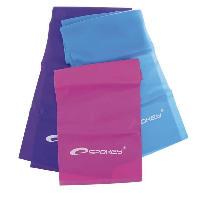 SWING Fitness gumy, 3 ks, 3 stupně napětí