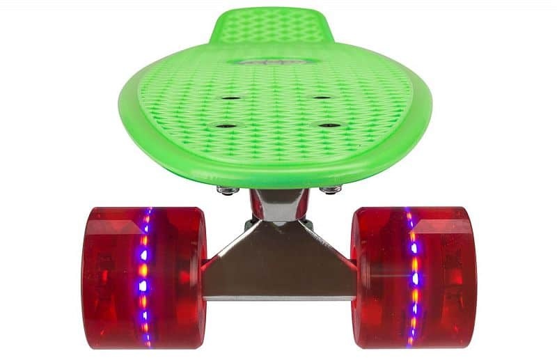 "PennyBoard NIJDAM 22.5"" LED GREEN"