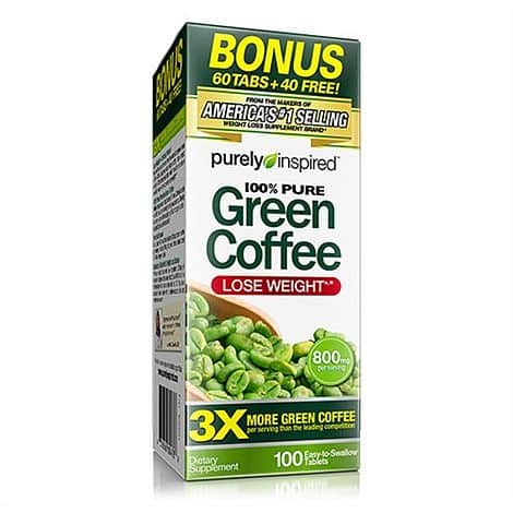 Green Coffee Inspired 100tbl.