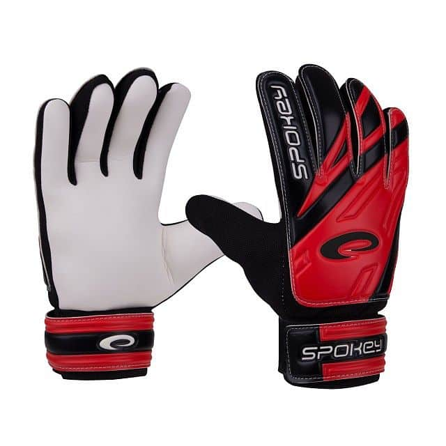 HOLD Juniorské brankářské rukavice červené