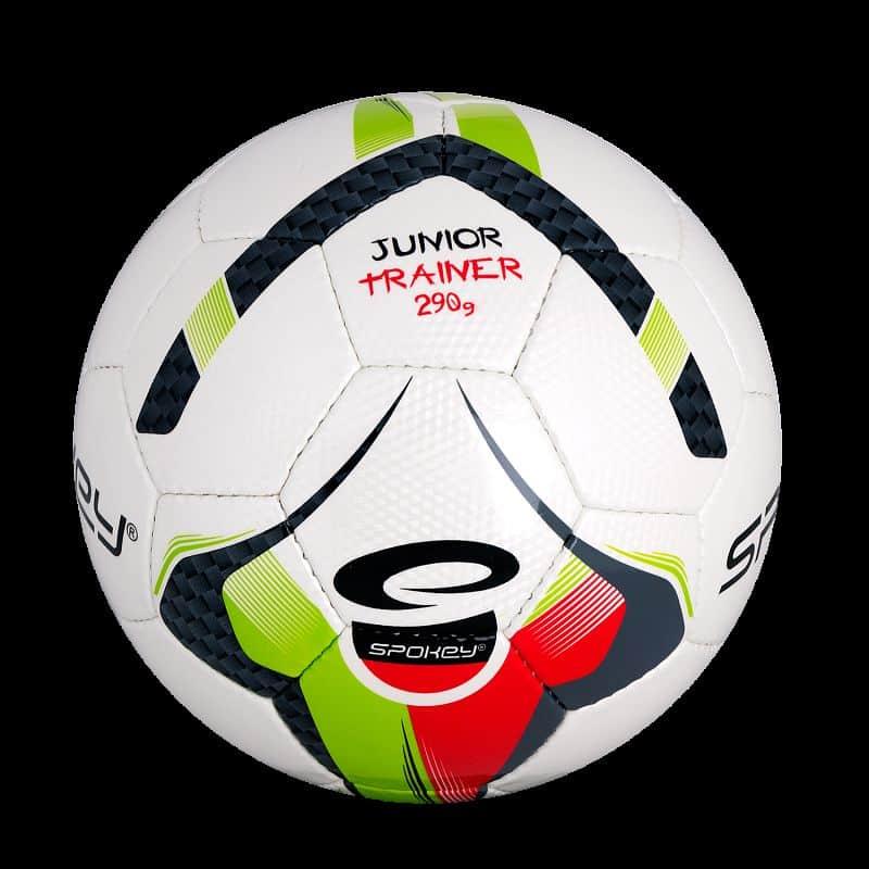 JUNIOR TRAINER Fotbalový míč zeleno-červený vel.4