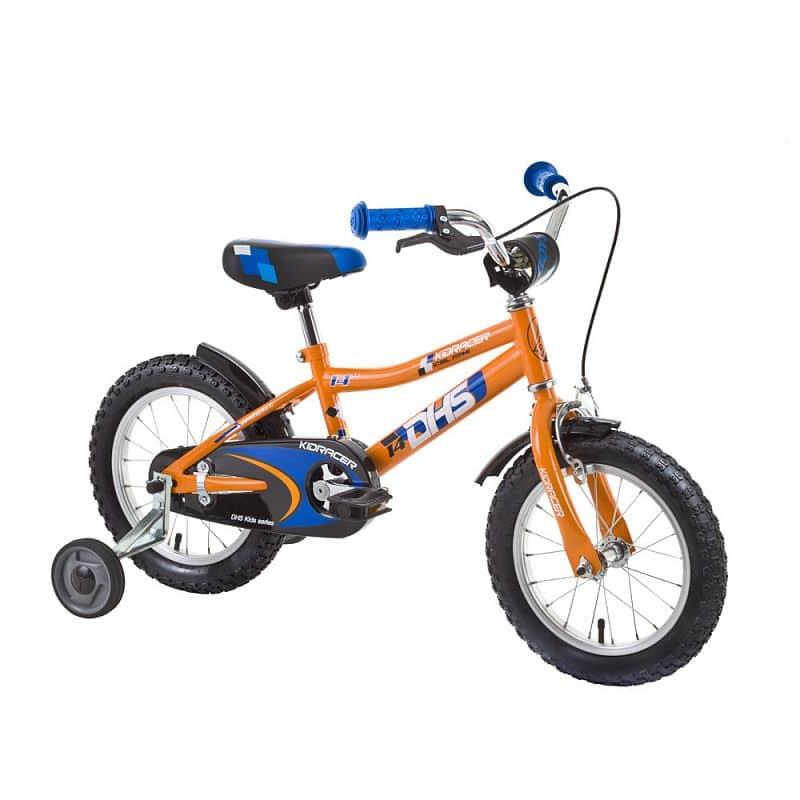 """Dětské kolo DHS Kid Racer 1403 14"""" - model 2015"""