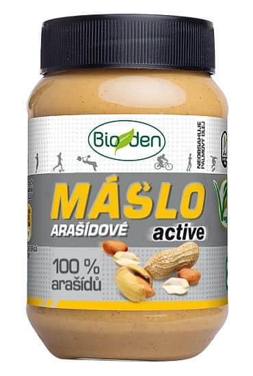 Arašídové máslo active 470g
