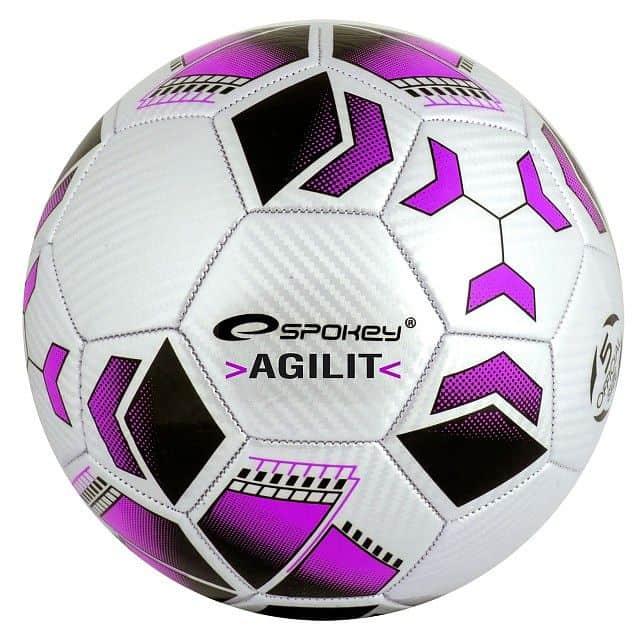 AGILIT Fotbalový míč fialový vel.5