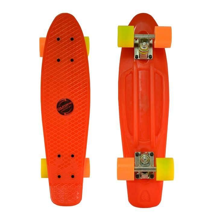 "Penny board California 22,5"" RED"