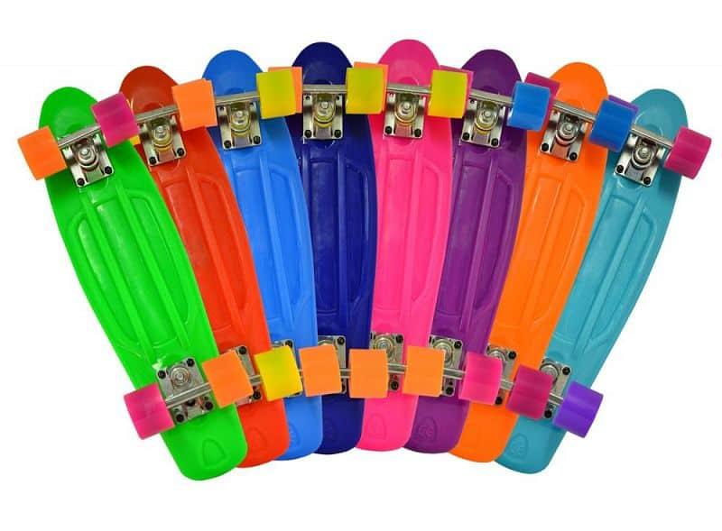 Pennyboard - vytvoř si barevný pennyboard podle sebe