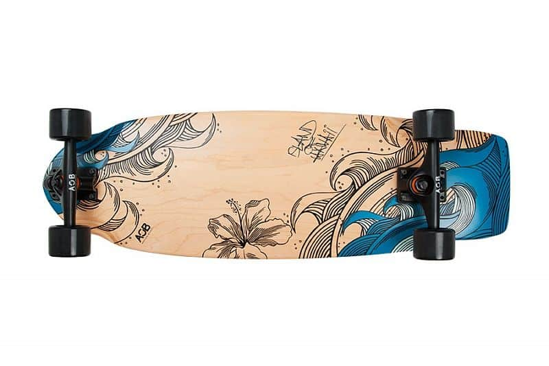 AOB longboard BlueWood 31,25 (79,3 cm)