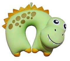 BAMBINI Cestovní polštářek dětský mikrokuličky dinosaur