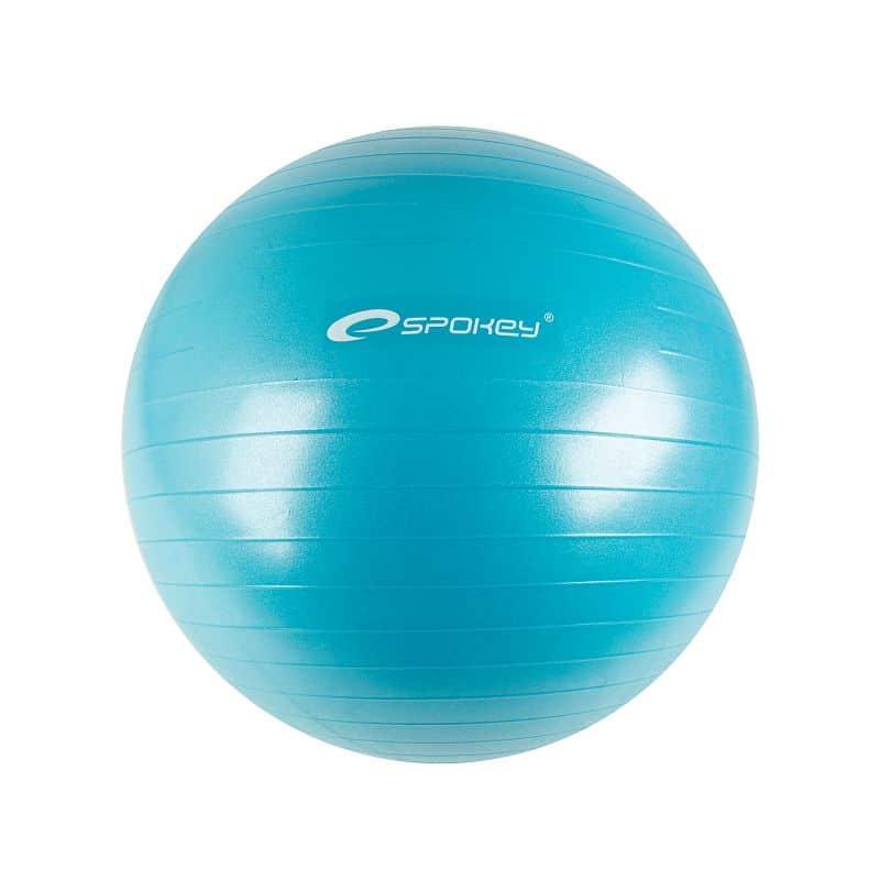 FITBALL II - Gymnastický míč 55 cm včetně pumpičky, tyrkys