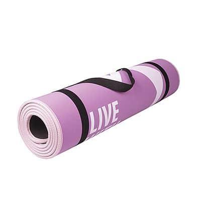 FLEXMAT Podložka na cvičení růžovvo-fialová