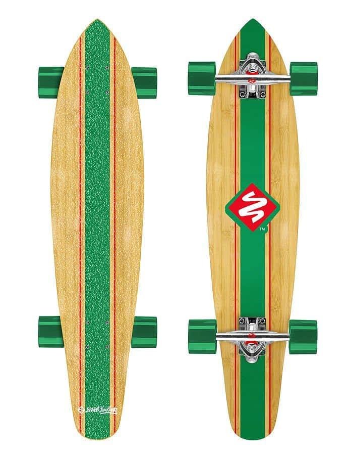 """Longboard Street Surfing KICKTAIL 36"""" Infinity"""