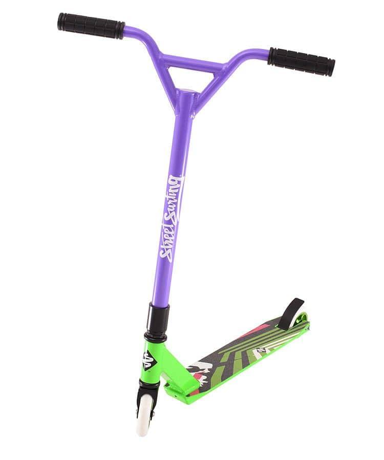 Koloběžka Street Surfing TORPEDO Green Purple