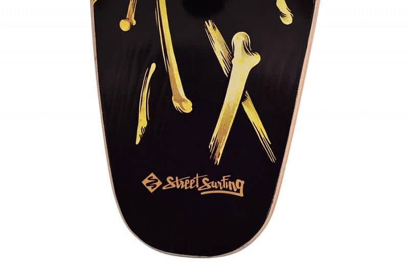 "Longboard Street Surfing KICKTAIL 36"" Spartans - artist series"