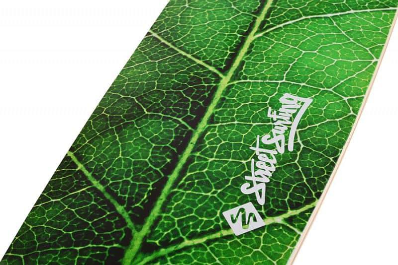"""Longboard Street Surfing FISHTAIL 42"""" The Leaf ´16"""
