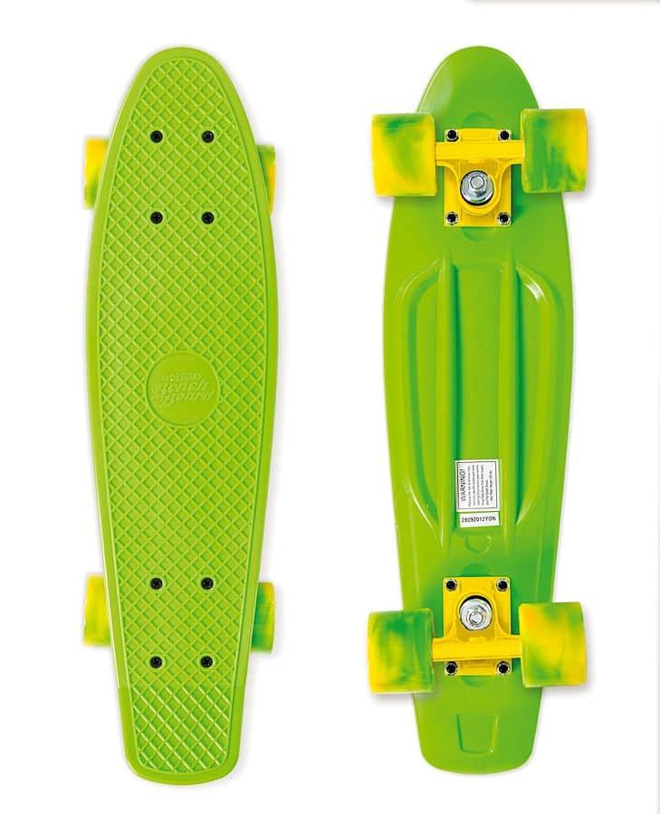 Skateboard Street Surfing BEACH BOARD California Dream, zelený
