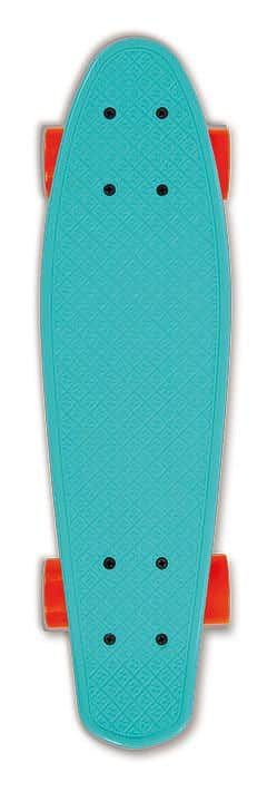 Skateboard FIZZ BOARD Blue Orange, modrý