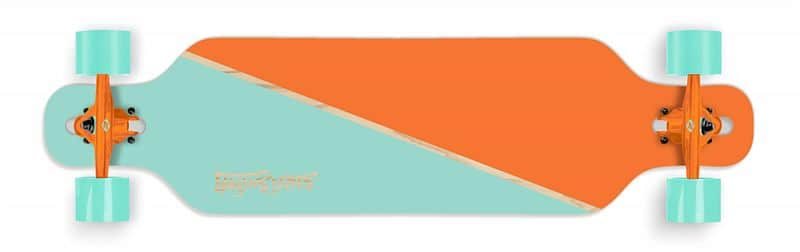"Longboard Street Surfing FREERIDE 39"" Nordic Orange"