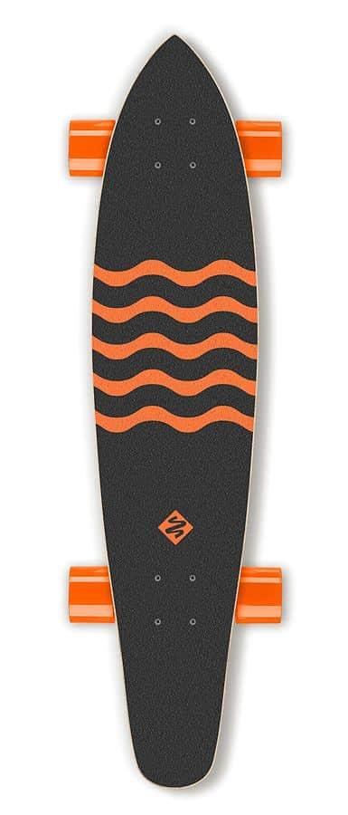 """Longboard Street Surfing KICKTAIL 36"""" Blown Out"""