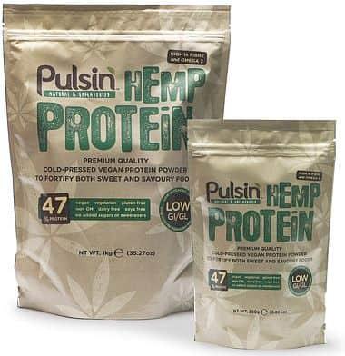 Pulsin Hemp Protein - konopný protein 250g