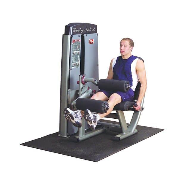 Posilovací stroj předkopávání/zakopávání - Body-Solid Pro-Dual DLEC-SF Leg extension/Leg curl