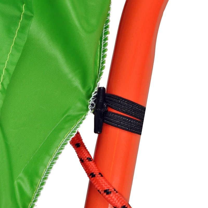 Trampolína s držadlem inSPORTline Jumpino 80 cm