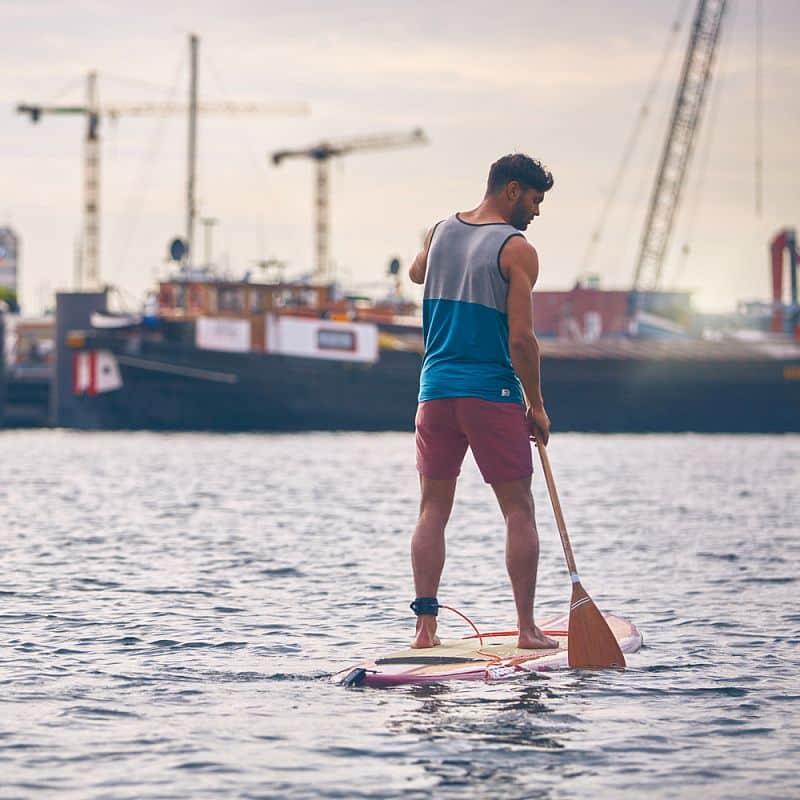 Paddleboard leash Jobe 2,75 m - oranžová
