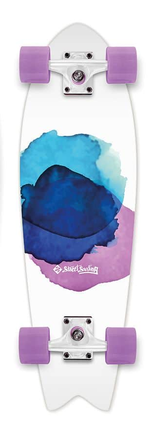 "Cruiser Street Surfing FISHTAIL 30"" Jelly Fish"