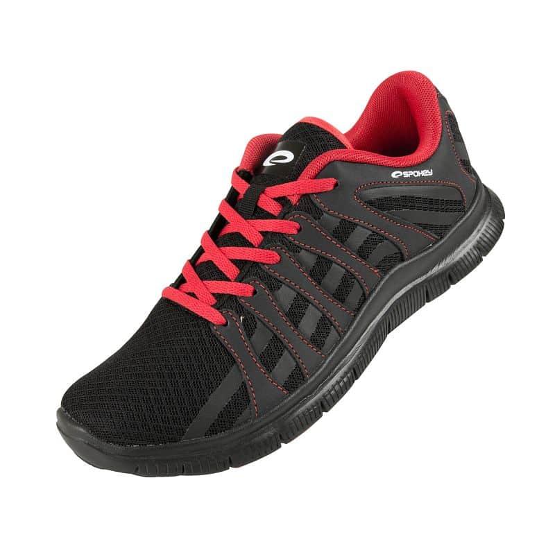 LIBERATE 7 Běžecké boty černá-červená vel.36 - 45