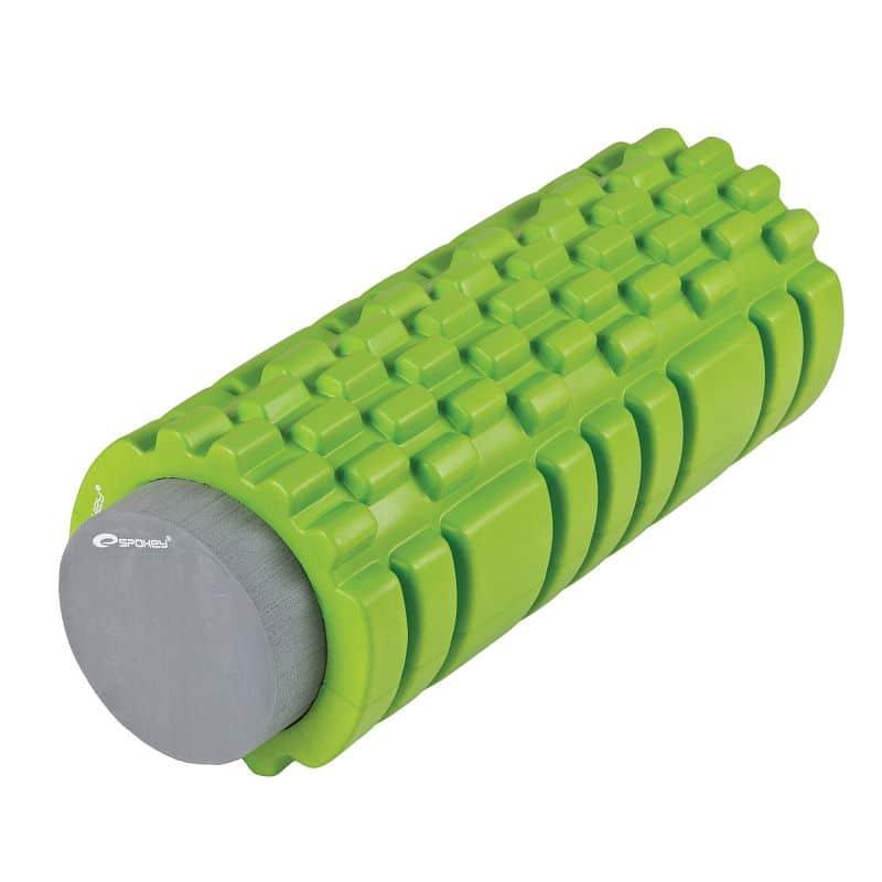 TEEL 2 v 1 fitness pěnový válec zelený