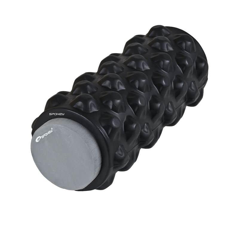 ROLL 2 v 1 fitness pěnový válec černý