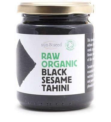 BIO RAW tmavé sezamové tahini 250 g - VÝPRODEJ