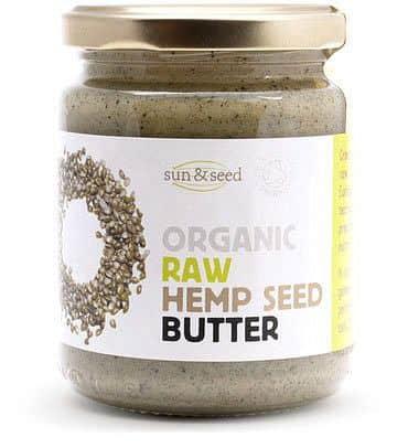 BIO RAW máslo z konopných semínek 250 g - VÝPRODEJ
