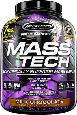 MuscleTech Mass-Tech 3200 g čokoláda