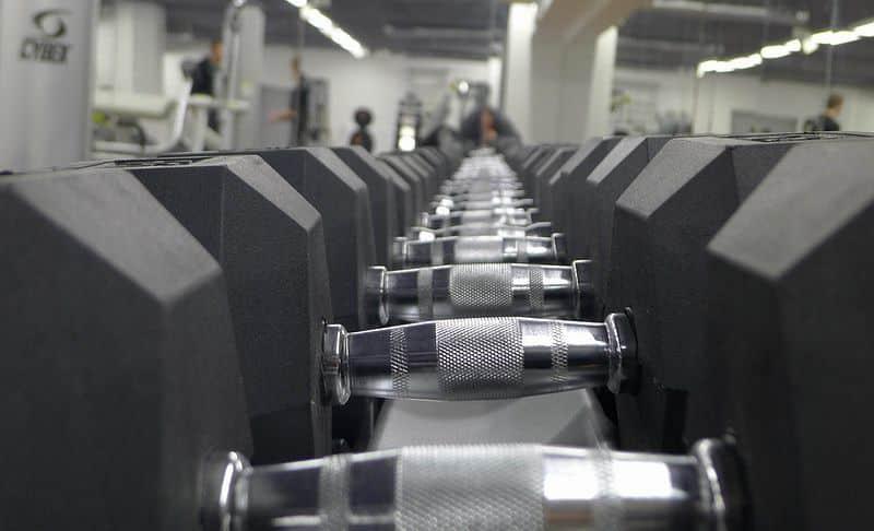 Jednoruční činky PROFI HEXA Bodysolid 1 - 50kg
