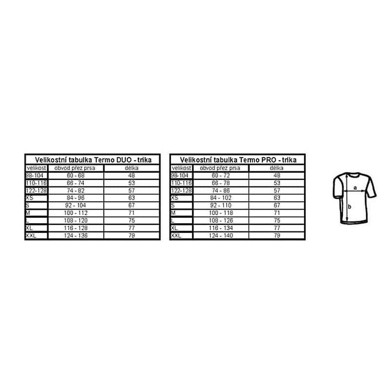 Dětské triko dlouhý rukáv Blue Fly Termo Duo - bílá S (110-116)