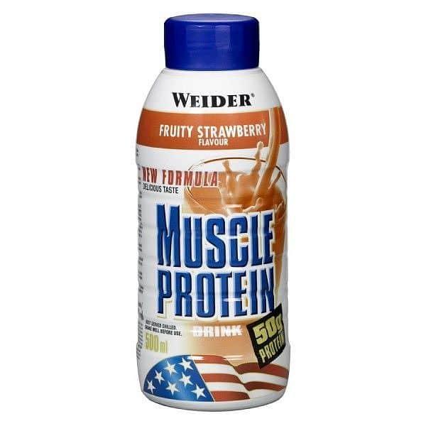Muscle Protein Drink 500ml. - Weider  - VÝPRODEJ